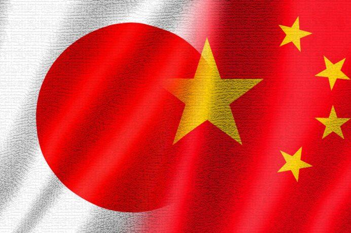 中国日本国旗